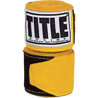 "Titel boxning 180 ""Semi elastisk mexikanska BOXNINGSLINDOR Diverse - guld"