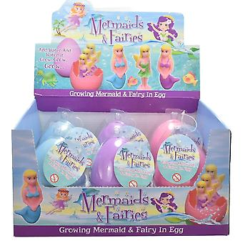 Grow Your Own Magic Hatching Fairy or Mermaid Egg