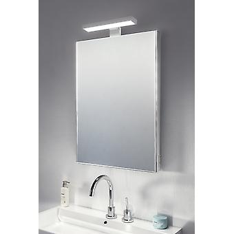 Large View Elite Top Light Mirror with shaver socket k482