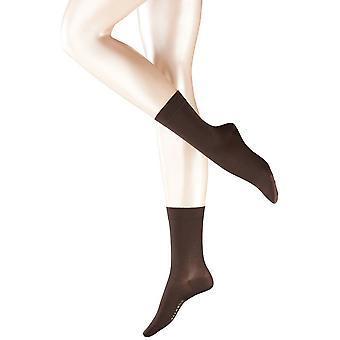 Calze di cotone di Falke Touch - marrone scuro