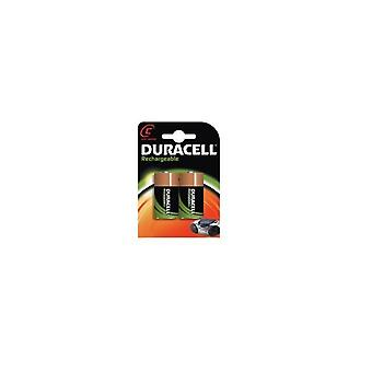Duracell C-HR14 2 Stuks, oplaadbaar