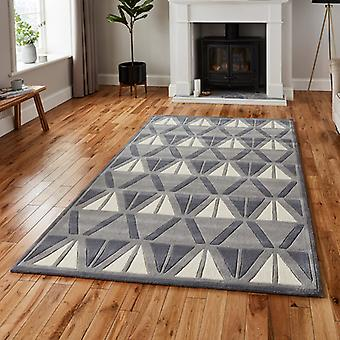 Rugs -Hong Kong - HK1374 Grey / Ivory