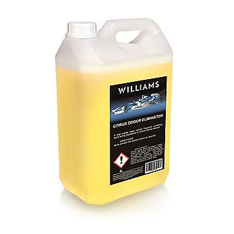 Williams Racing Car Interior Citrus Odour Eliminator 5L