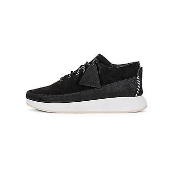 Clarks Originals Clarks Originals Black Suede Kiowa Sport Sneaker