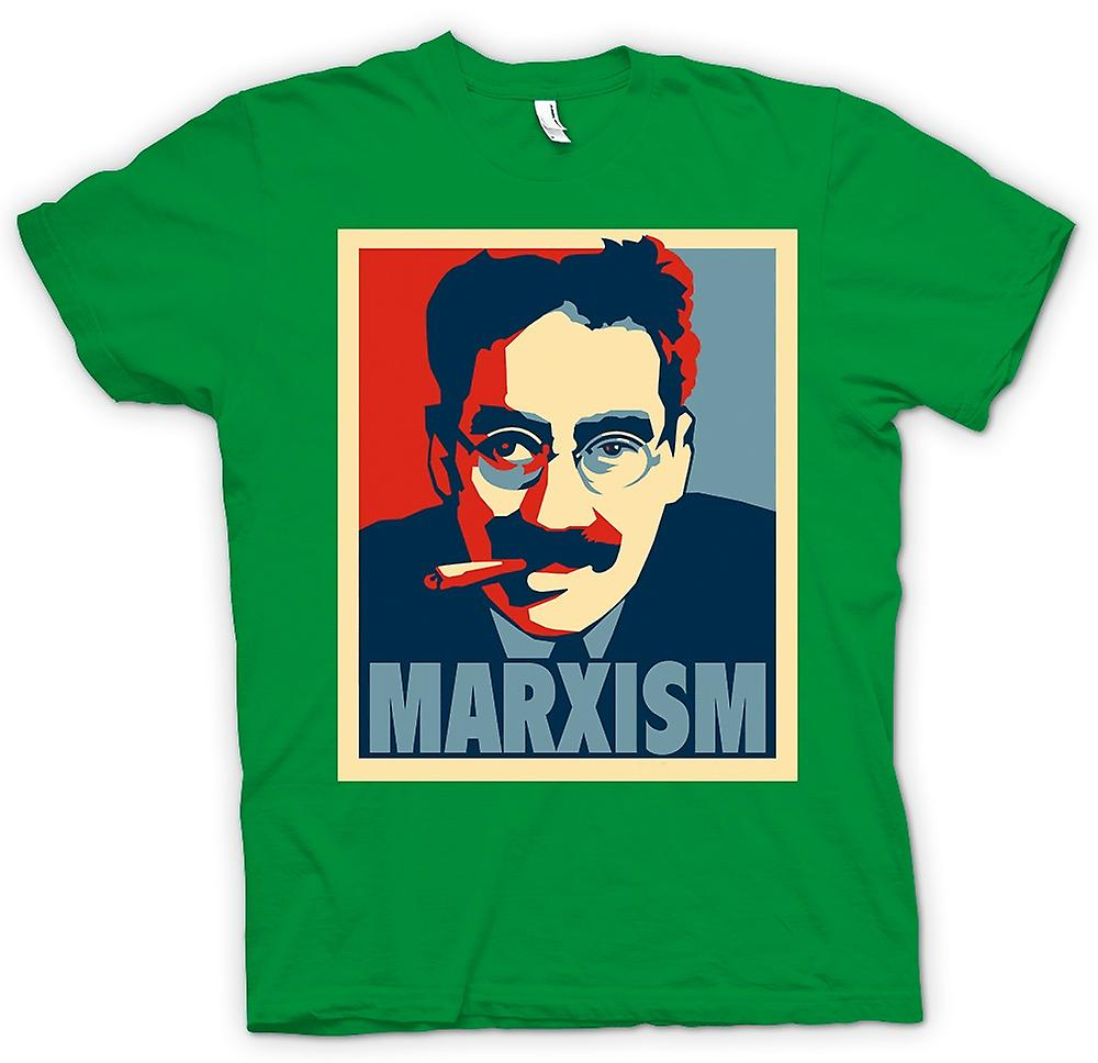 Heren T-shirt - marxisme Groucho Marx - communisme