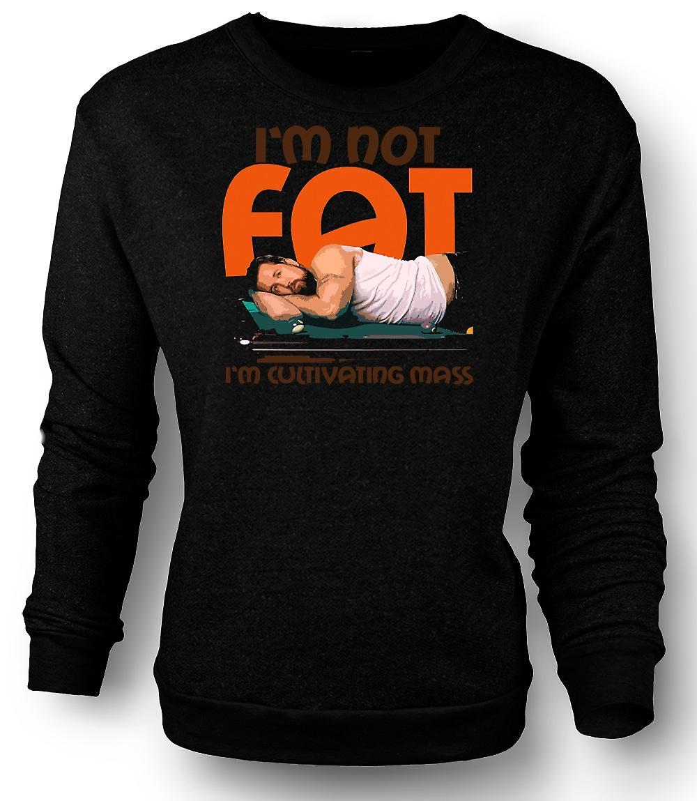 Mens Sweatshirt Im inte fett - dess alltid soligt i Philadelphia