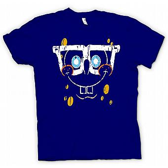 Womens T-shirt-Sponge Bob Square Pants Cool Gesicht