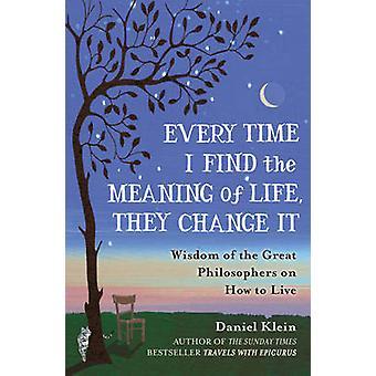 Cada vez que encuentro el significado de la vida --cambiar la sabiduría de la