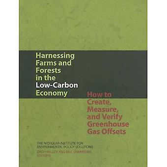 Het aanwenden van de boerderijen en de bossen in de koolstofarme economie: hoe maken, maatregel, en verifiëren van broeikasgas compenseert