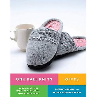 One Ball Knits Gifts: 20 Stylish Designs Made with a Single Ball, Skein, Hank, or Spool