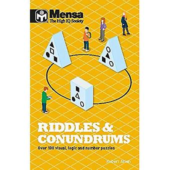 Mensa Riddles & Conundrums:�Over 100 visual, logic and�number puzzles