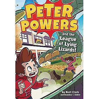 Pouvoirs de Peter et la Ligue des lézards couché! (Pouvoirs de Peter)