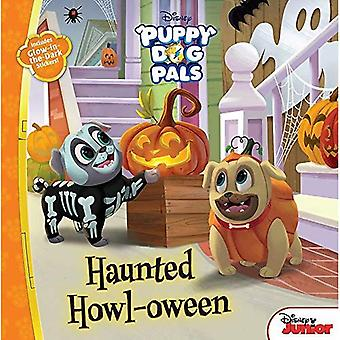 Puppy Dog Pals: Haunted Howl-Oween: With Glow-In-The-Dark Stickers!