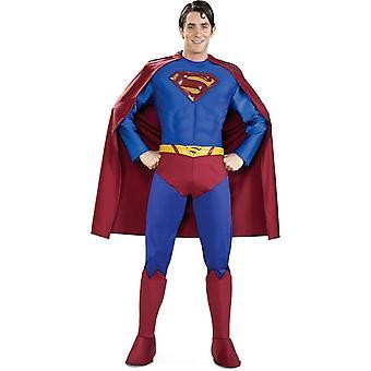 Erwachsenen Kostüm Deluxe Superman - 10419
