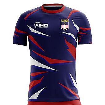 2019-2020 ماليزيا مفهوم الوطن القميص لكرة القدم