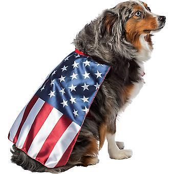 米国旗の犬のコスチューム