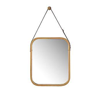 Colgante espejo pasillo dormitorio cuarto de baño espejo BZR03-N de la pared de SoBuy
