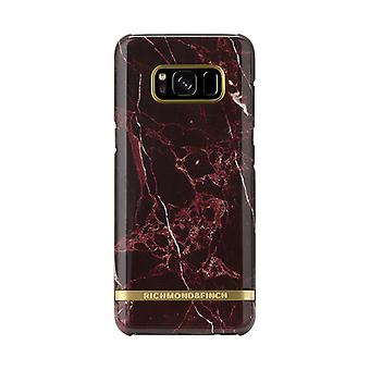 Richmond & Finch covers for Samsung Galaxy S8-Red Marble