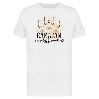 Ramadan Kareem Holy Holiday Tee Men's -Image by Shutterstock