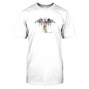 USA Grunge Eagle Stars And Stripes - United States Mens T Shirt