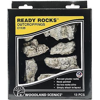 Ready Rocks-Outcroppings 13/Pkg