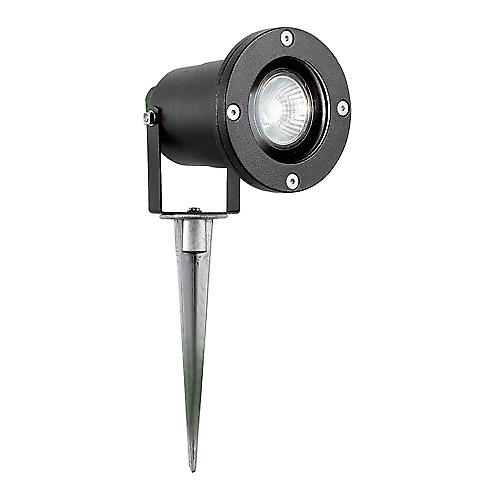 Searchlight 5001BK Outdoor Directional Spike Light Black Finish IP44 Rated