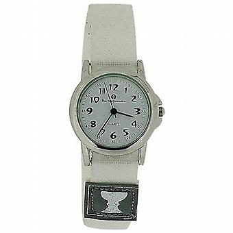 Girls First Holy Communion Analogue White Dial Easy Fasten Strap Watch HOL04B