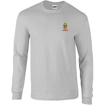 Royal Army Ordnance Corps veteraan-gelicentieerd Britse leger geborduurd lange mouwen T-shirt