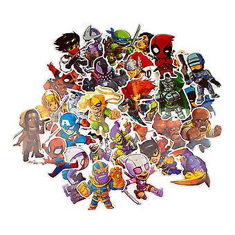 50x Klistermärken - Marvel