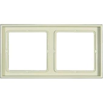 Jung 2x Frame LS 990 Cream-white LS982W
