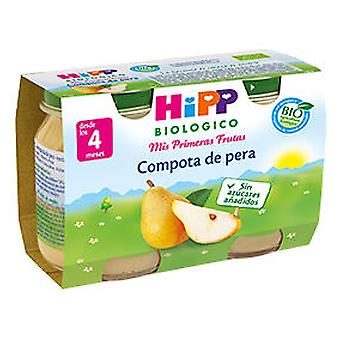 Hipp Jars Pear Compote (Childhood , Healthy diet , Pots)