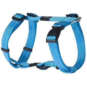 Rogz For Dogs Snake Tuig Turquoise 16 Mmx32-52 Cm