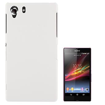 Cover plastic case for Sony Xperia Z1 white
