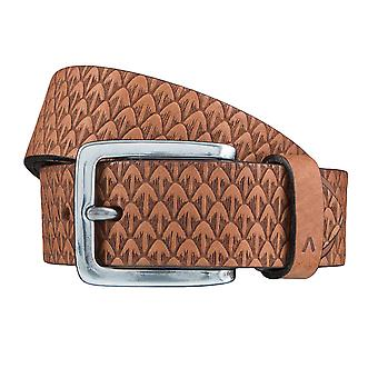 ALBERTO new pine belts men's belts leather belt Cognac 3867