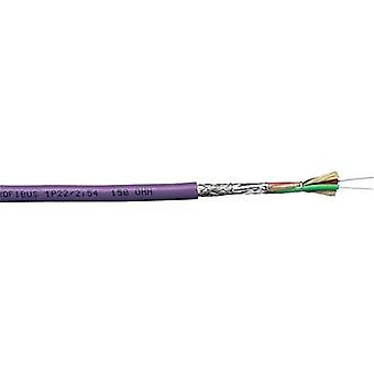 Bus cable 1 x 2 x 0.32 mm² Violet Nexans 44475989 Sold per metre