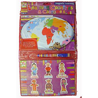 Magnetic Learning Countries And Costumes