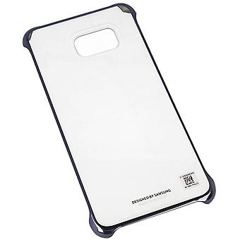 Samsung EF-QG928CBEG Hard Cover sak for Galaxy S6 kanten pluss G928 blå-svart