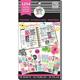 Create 365 Happy Planner Sticker Value Pack-Today Is The Day PPSV-05