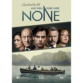 & Then There Were None [DVD] USA import
