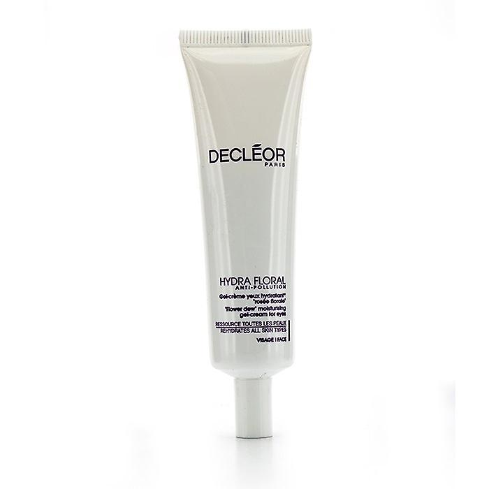 Decleor Hydra Floral Anti-Pollution Flower Dew Moisturising Gel-Cream For Eyes (Salon Size) 30ml/1oz