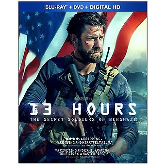 13 Hours: The Secret Soldiers of Benghazi [Blu-ray] USA import