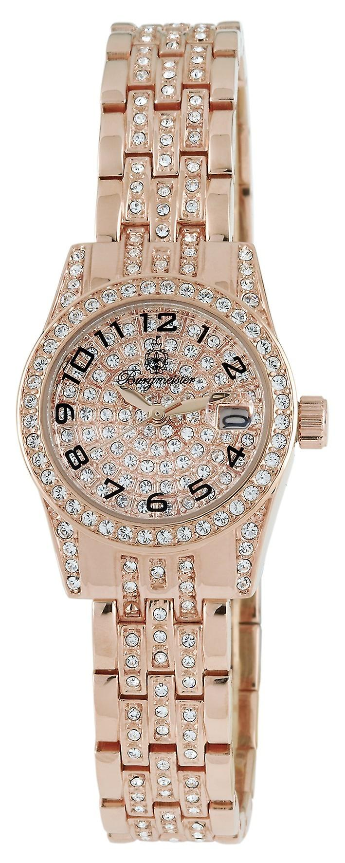 Burgmeister ladies quartz watch Diamond Star BM120-399
