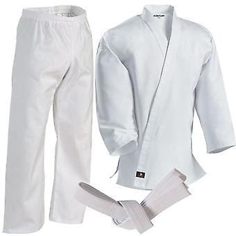 Century 7 oz. Middleweight Student Uniform with Elastic Pant - White