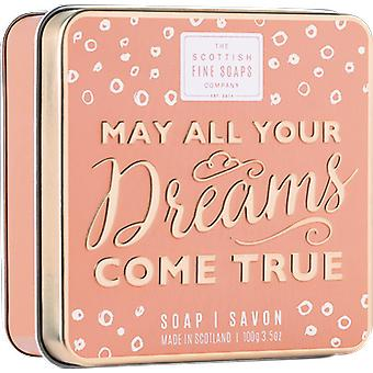 Scottish Fine Soaps May Your Dreams Come True Soap in a Tin