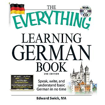 The 'Everything' Learning German Book (Paperback) by Swick Edward