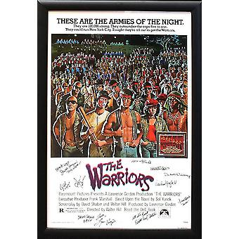 The Warriors - Signed Movie Poster