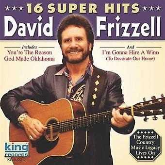 David Frizzell - 16 Super Hits [CD] USA import