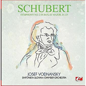 Schubert - symfoni No. 2 i B-Flat store D.125 [CD] USA importerer