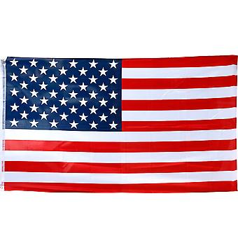 TRIXES Large USA Stars and Stripes 5ft x 3ft 2016 Rio Olympic Games Flag