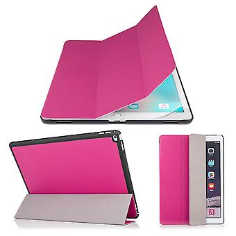 Smart Cover case + stylus for Apple iPad Pro 9.7 inch (2016) - Hot Pink